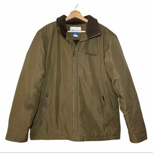 Men's Large Brown Columbia Coat
